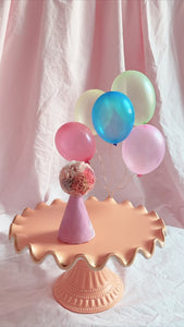 Pink Velvet Party Hat