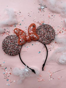 Halloween Puff Bow Mouse Ears
