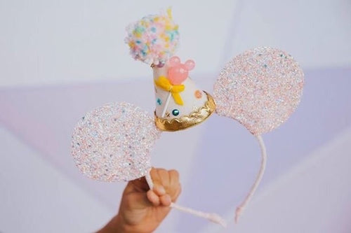 Pink Candy Party Mouse Ears