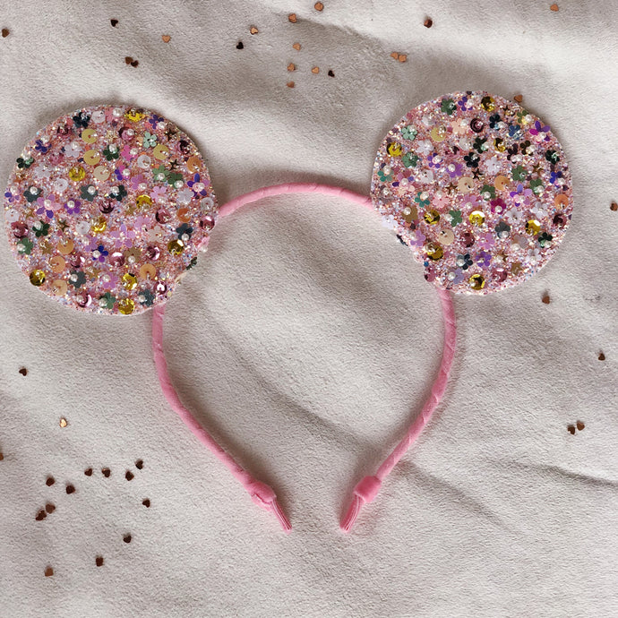 Sprinkled Confetti Mouse Ears