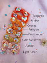 Petite Pumpkin Patch Velvet Bow
