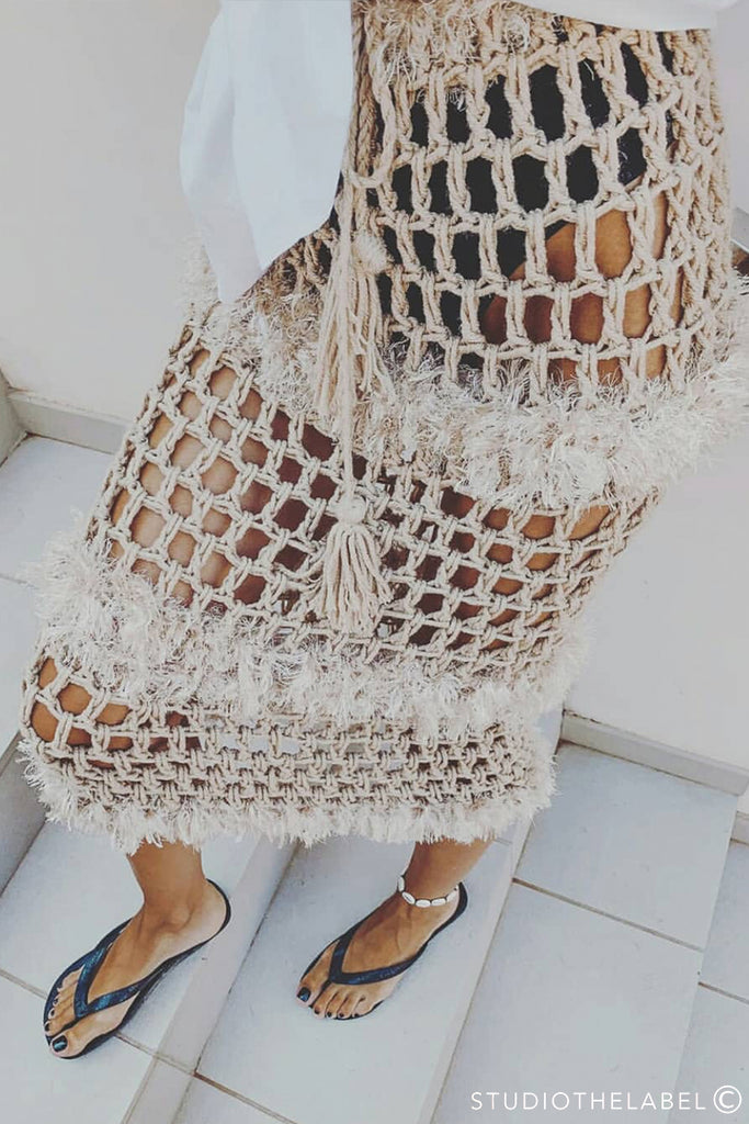Bahamas Luxury Crochet Skirt