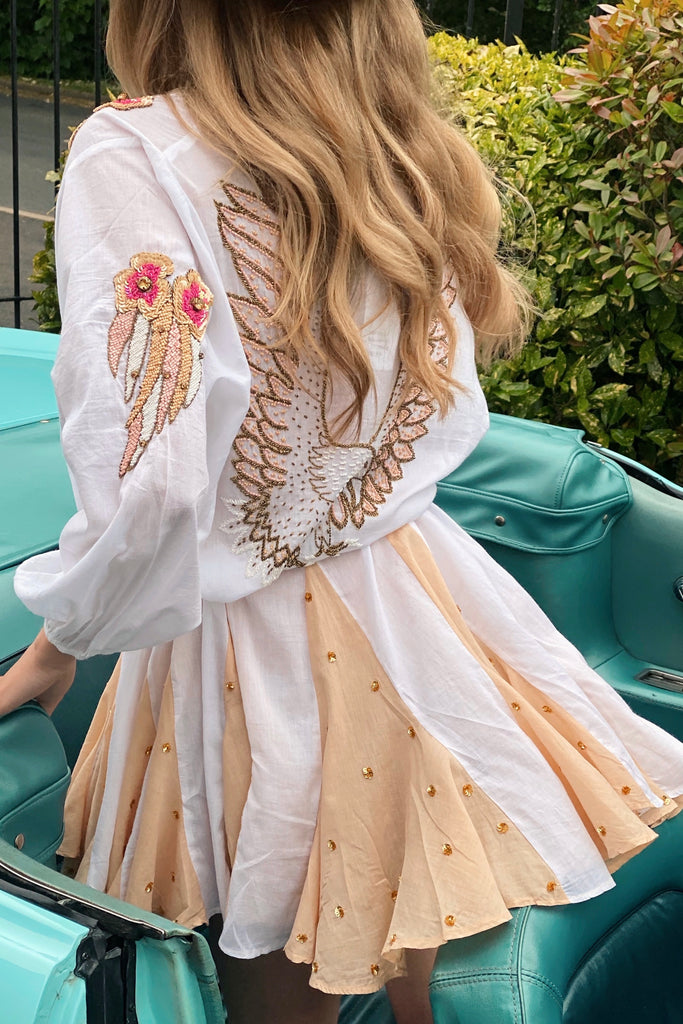 Hawaii Luxury Embellished Dress