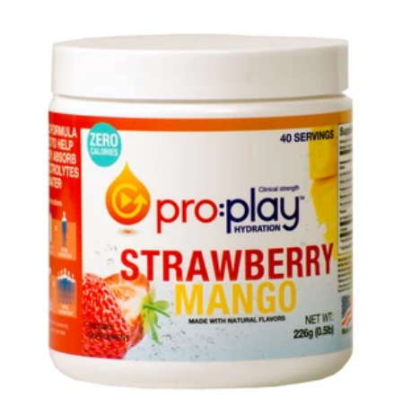 $10 off pro:play Strawberry Mango Tubs w/ FREE SHIPPING