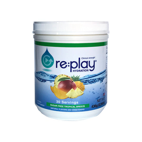 re:play: Clinical Strength Hydration Recovery Electrolyte Drink Powder