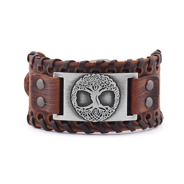 Tree of Life Vintage Wrap Leather Bracelets - All the best