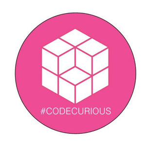 Code Curious Computer Sticker