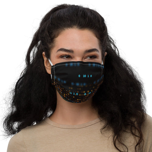 'Secret message' - Premium face mask