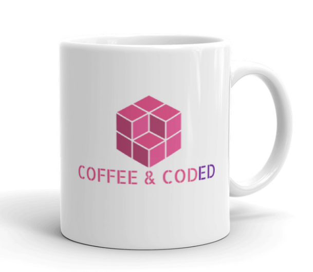 COFFEE & CODED Official Logo Mug
