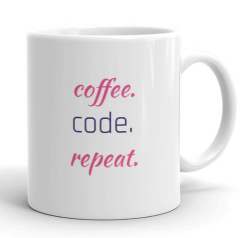 Coffee, Code, Repeat Mug