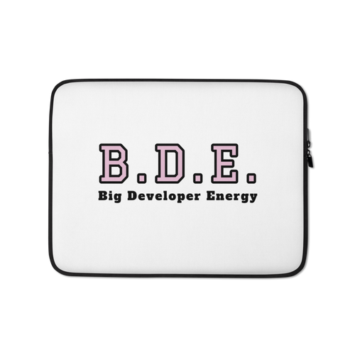BDE Laptop Sleeve