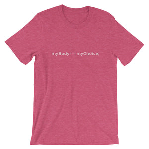 My Body My Choice Benefit Tee (Color)