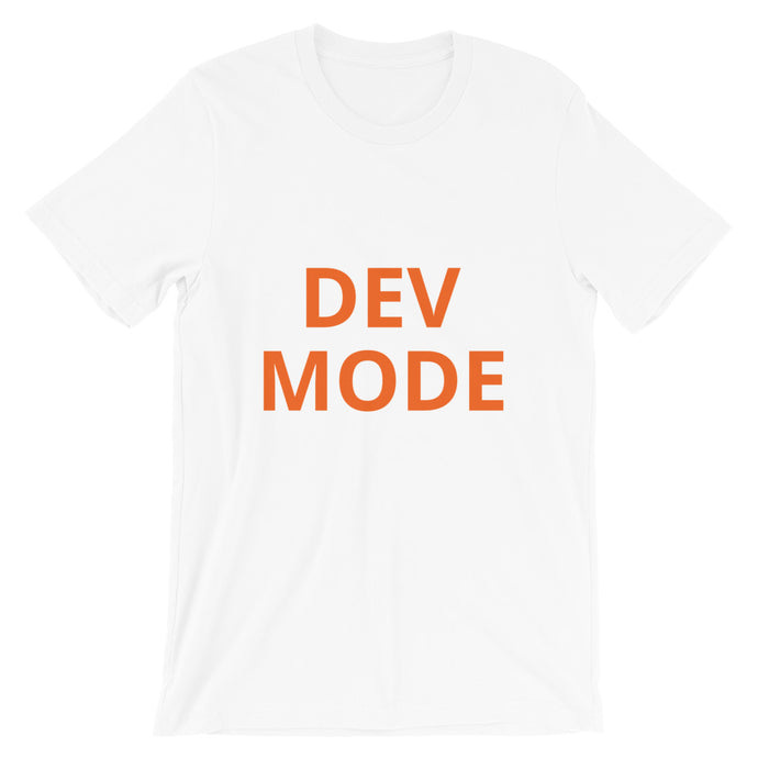 Dev Mode (Orange)