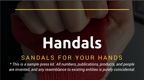 Handals press kit screen shot