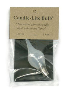 Large Candle-lite Bulb 6 watt