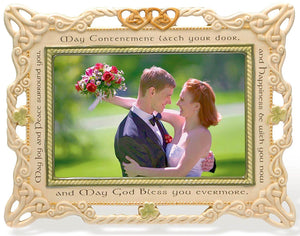 "4x6"" Celtic Wedding Picture Frame"