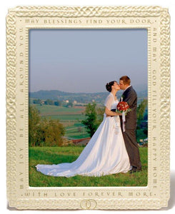 "8x10"" Celtic Knot Wedding Picture Frame"