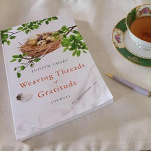 """Weaving Threads of Gratitude""  Journal by J. Cosby"