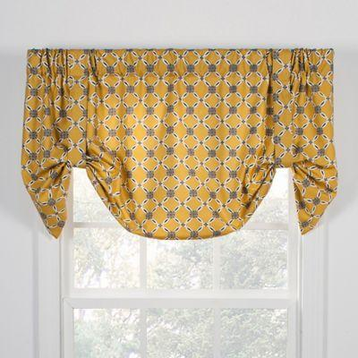 Andros Tie Up Valance Gold