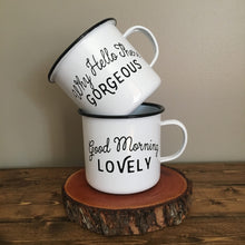 Good Morning Mugs, set of 2