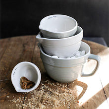 Stoneware Measuring Cups