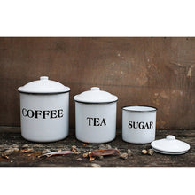Enamel Canisters 3pc Set