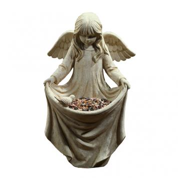 Cherub Bird Feeder