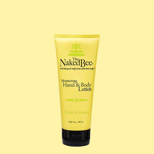 Naked Bee Hand & Body Lotion 2.25 Citron and Honey