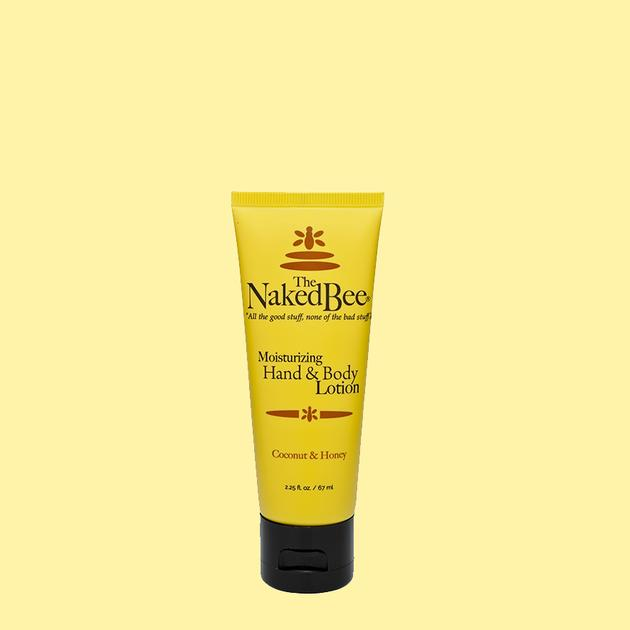 Naked Bee Hand & Body Lotion 2.25 oz Coconut Honey
