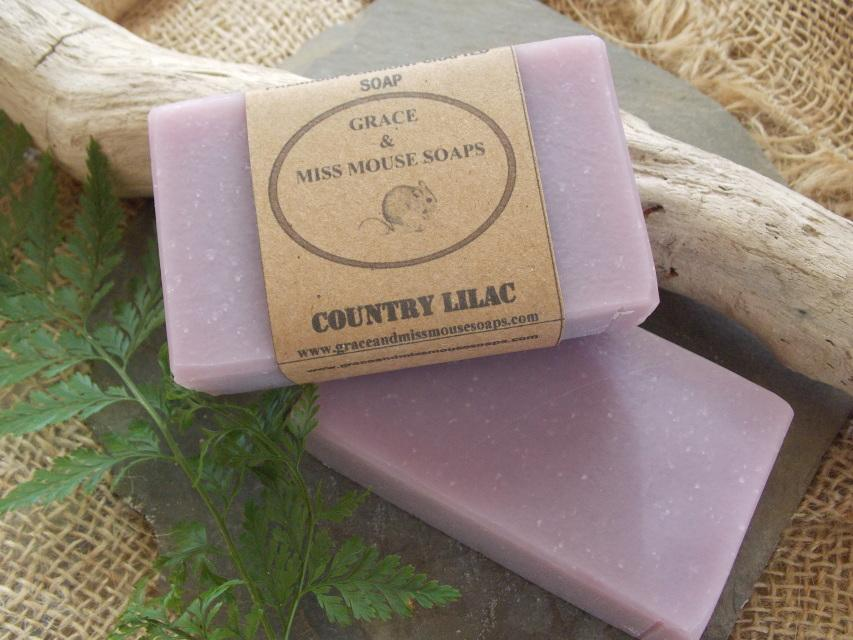 Grace and Miss Mouse Bar Soap
