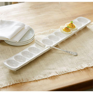 Deveiled Eggs Tray Set