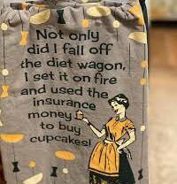 Diet Wagon Towel