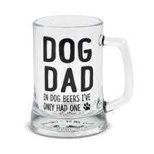 Dog Dad Stein and Opener Set