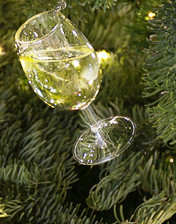 Donnay Wine Glass Ornament