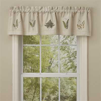 Dragonfly Lined Valance