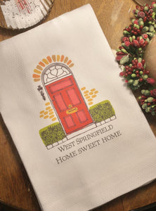 Your Town Home Sweet Home Towel