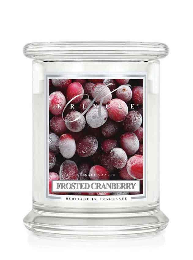 Frosted Cranberry Jar 14.5oz