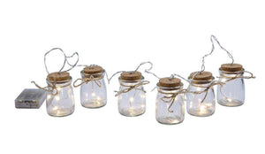 Glass Jar Garland