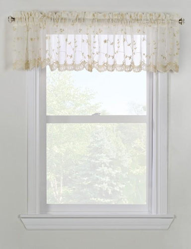 Grandeur Valance in Cream