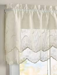 Hathaway Scalloped Valance Cream