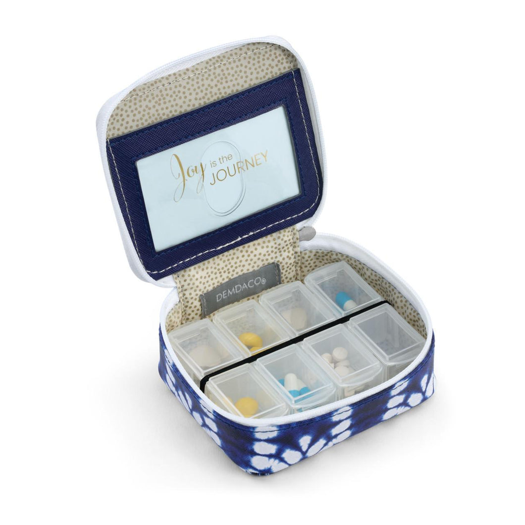 Indigo Pill Box