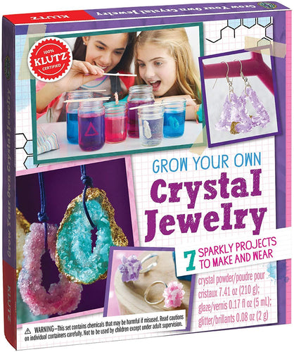 KLUTZ Grow Your Own Crystal Jewlery