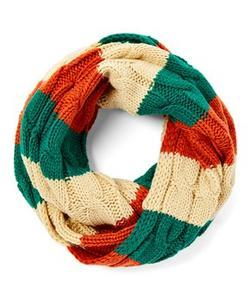 Knit Ireland Flag Scarf