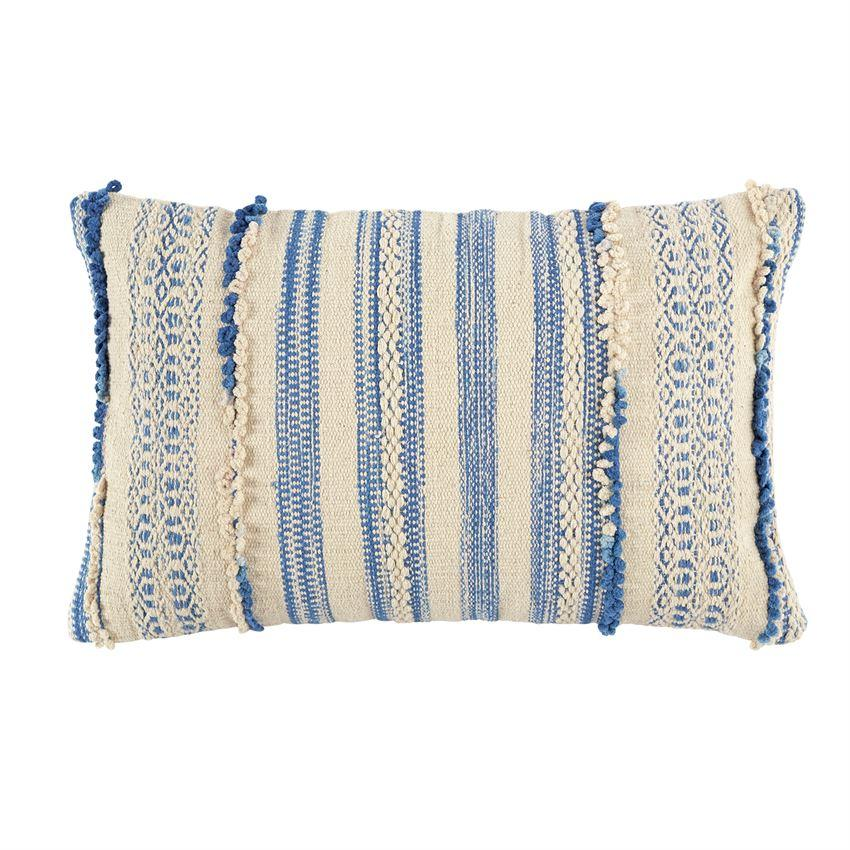 Knot Geo Stripe Pillow