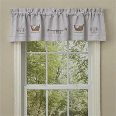 Laundry Lined Valance