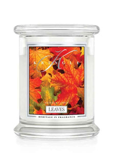 Leaves Kringle Candle