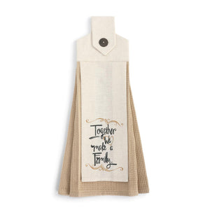 Make a Family Tea Towel