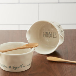 Nibbles App Bowl with Spoon