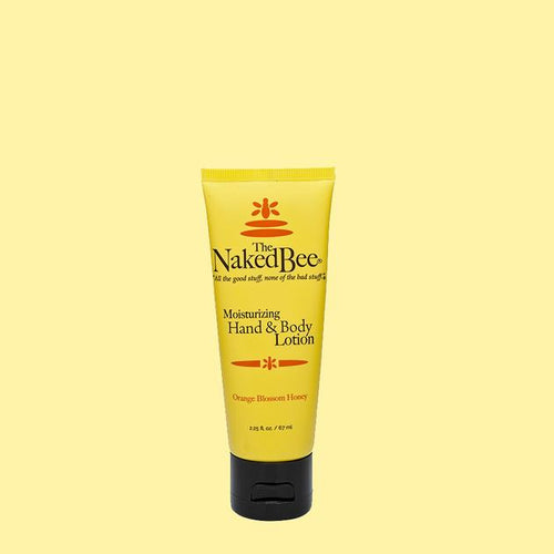 Naked Bee Hand & Body Lotion 2.25 oz Orange Blossom Honey