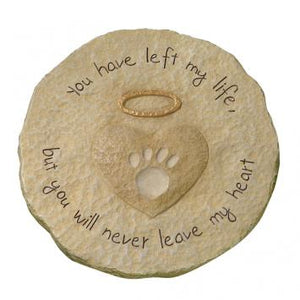 Paw Print Stepping Stone